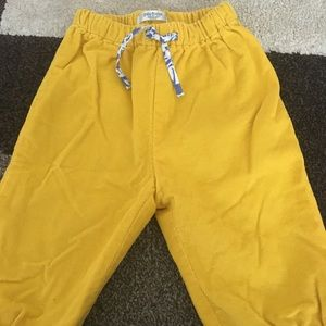 Mini Boden pants yellow